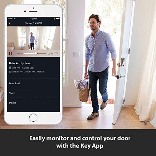 Kwikset SmartCode 914 Keypad Smart Lock + Amazon Cloud Cam | Key Smart Lock Kit (Venetian Bronze) by Kwikset (Image #2)
