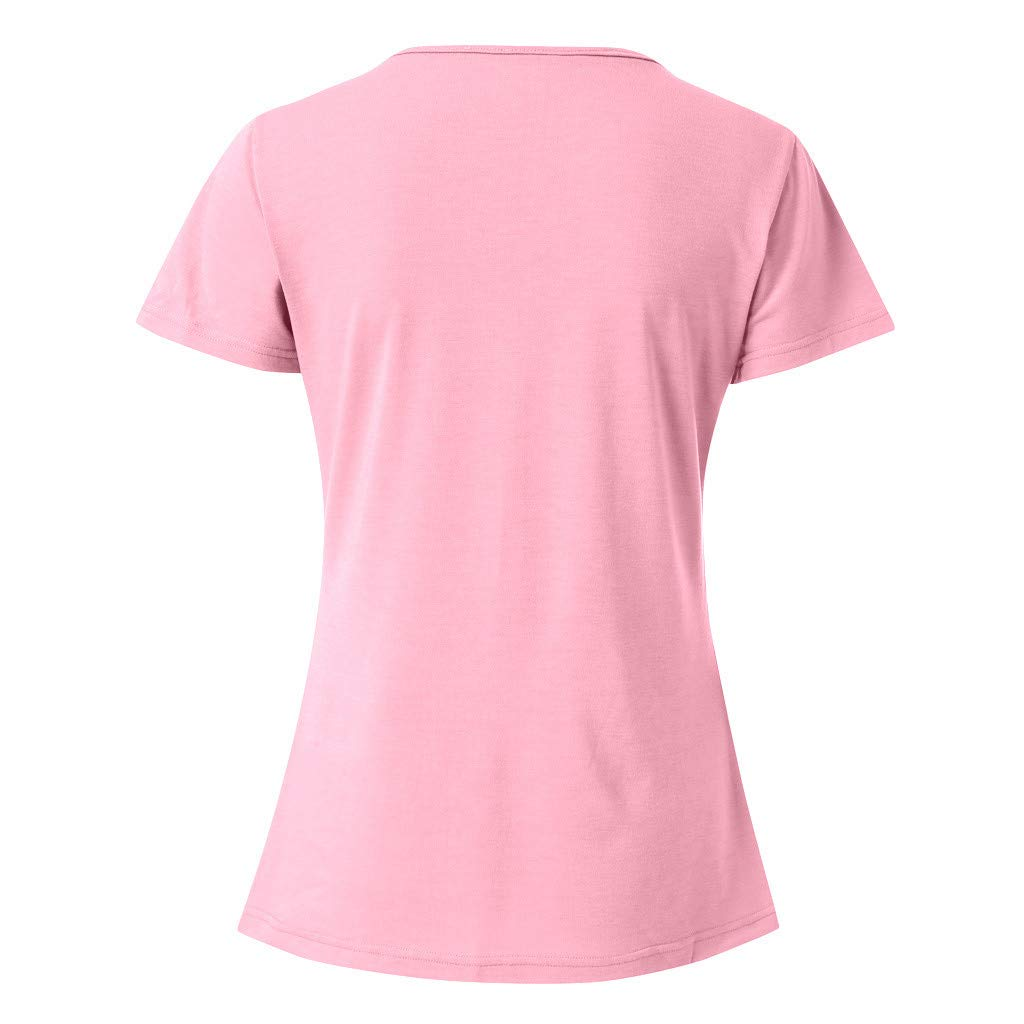 t Shirt for Women Graphic Womens Summer Shirts Casual Tee Shirts V Neck Short Sleeve Loose Fits Tops Blouse