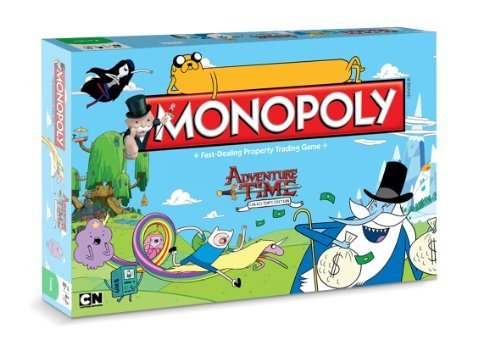 Monopoly Adventure Time Board Game