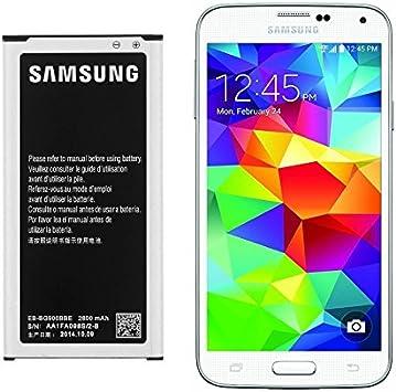 Batería para Samsung Galaxy S5. Sustituye a la batería original ...