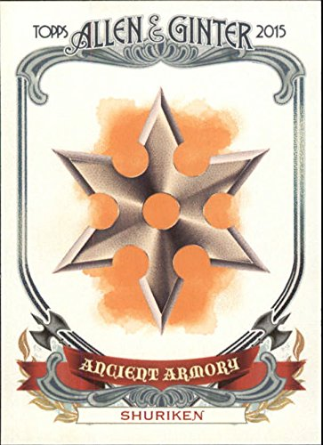 2015 Topps Allen and Ginter Ancient Armory #AA12 Shuriken ()