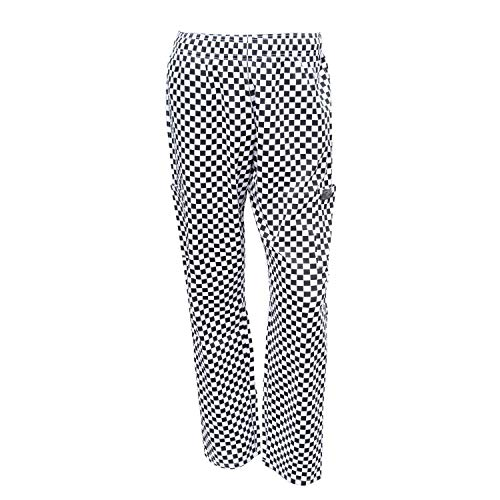 Chef Code Chef Pants, Black/White, Large