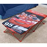 Kids On the Go Portable Travel Slumber Cot Set (Disney Cars)
