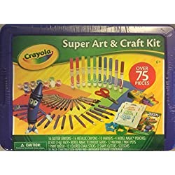 Crayola Super Art & Craft Kit