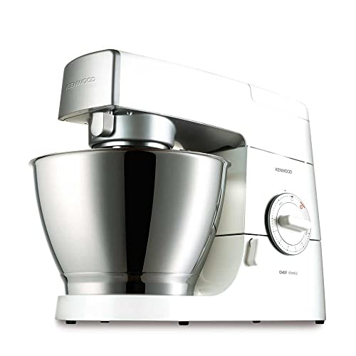 Kenwood KM336 Chef Classic Stand Mixer with Blender, Gloss White