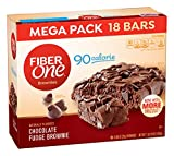 Fiber One Brownies, 90 Calorie Bar, Chocolate Fudge Brownie,0.89 Ounce , 18 Count (Pack of 2) Review