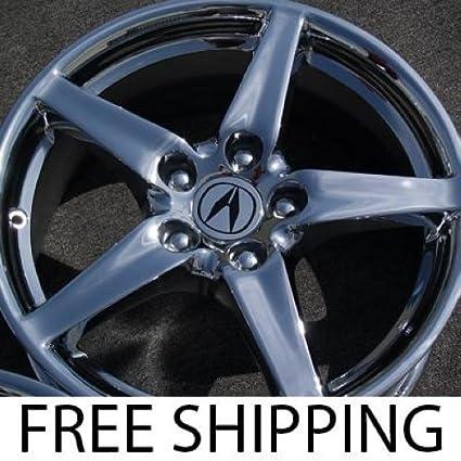 Amazoncom Acura RSX Set Of Genuine Factory Inch Chrome Wheels - Acura rsx rims