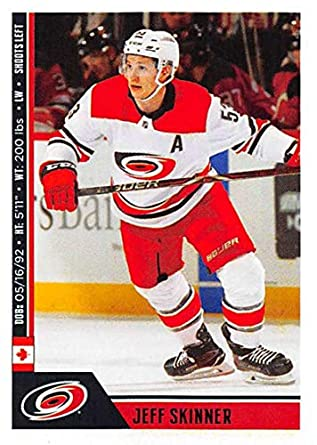 2018-19 Panini NHL Stickers Hockey  54 Jeff Skinner Carolina Hurricanes 7380b9715