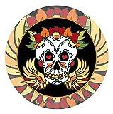 Thirstystone Stoneware Coaster Set, Skull