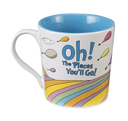 Dr. Seuss Oh the Places 12 Oz. Ceramic Mug 17761