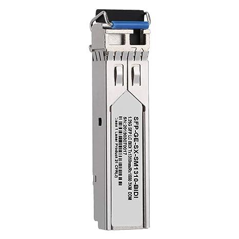 Amazon.com: ASHATA SFP-GE-SX-SM1310-BIDI - Módulo de fibra ...