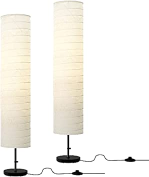 Ikea Floor Lamp 46 Inch White White 2 Amazon Com