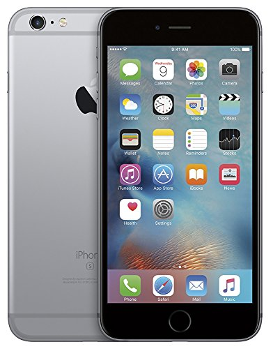 Apple iPhone 6S Plus, 64GB, Space Gray - For AT&T / T-Mobile (Renewed)