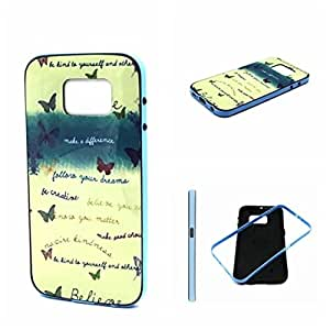 Case for S6,Cover for S6,Hard Case for Galaxy S6,Kaseberry 2-Piece Style Soft Hard Case Cover for Samsung Galaxy S6
