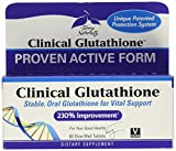 Terry Naturally Clinical Glutathione - 300 mg L-Glutathione, 60 Slow-Melt Tablets - Stable Glutathione Supplement for Vital Support, Antioxidant - Vegan, Non-GMO, Gluten-Free - 30 Servings