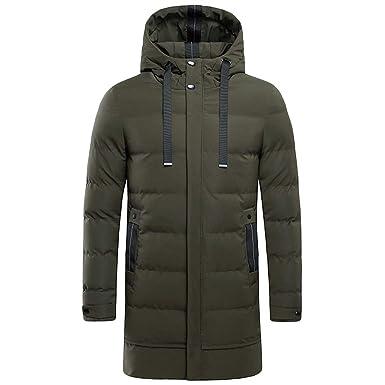 diversifié dans l'emballage très convoité gamme de ramassé AIMEE7 Homme Doudoune Longue à Capuche Grande Taille Veste Manteau de Long  Blouson Hiver Chaude Parka Outdoor Coupe-Vent Vêtements Hommes
