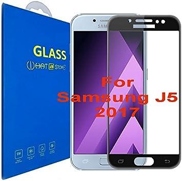Samsung Galaxy J5 (2017) - Curvo 3D Cristal Templado Protector de ...