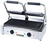 Adcraft Countertop Double Sandwich Grill, 22.5 x 14.5 x 7.5 inch -- 1 each.