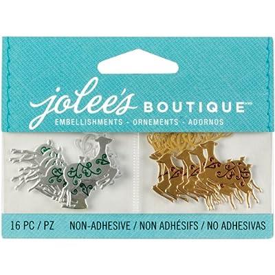 Jolee's Boutique Scrapbooking Embellishments, Mini Reindeer