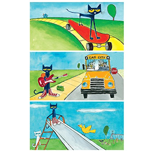 Educational Insights Pete the Cat School's Cool! Decorative Light Filters ()