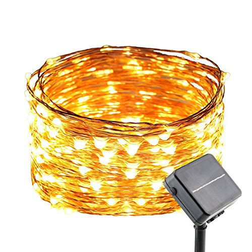 Copper Effect Solar Garden Lights in US - 8