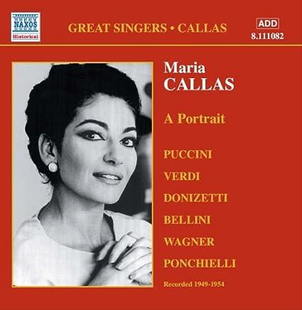 マリア・カラス:マリア・カラスの肖像 (1949-1954)