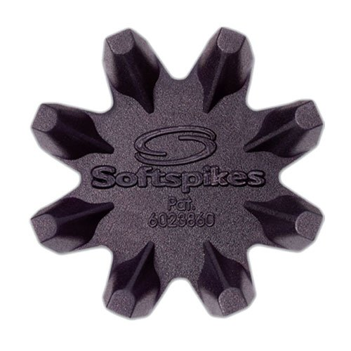 Softspikes Black Widow Classic Cleat Fast Twist, 16 Count Kit, Outdoor Stuffs