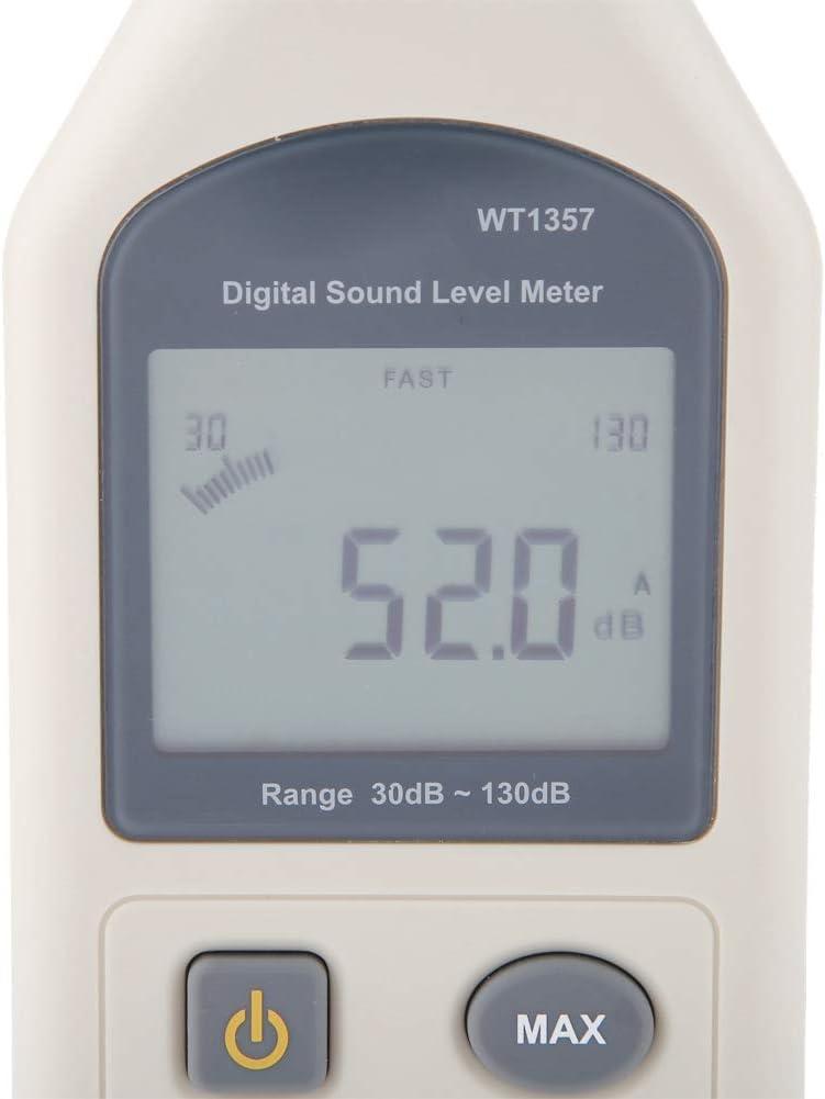 Jadpes Digital Sound Level Meter,Professional Portable Handheld LCD Digital Digital Noise Meter High Precision Sound Decibel Meter Handheld Noise Tester Decibel Measurement