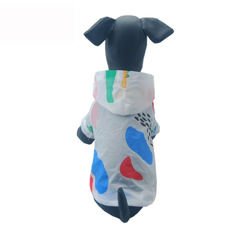 Dog Rashguard,Axchongery Summer Breathable Pet Sunscreen Puppy Hoodie T-shirt Coat (Multicolor, S)