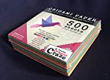 Origami Paper 500 Sheets, Premium Quality for Arts