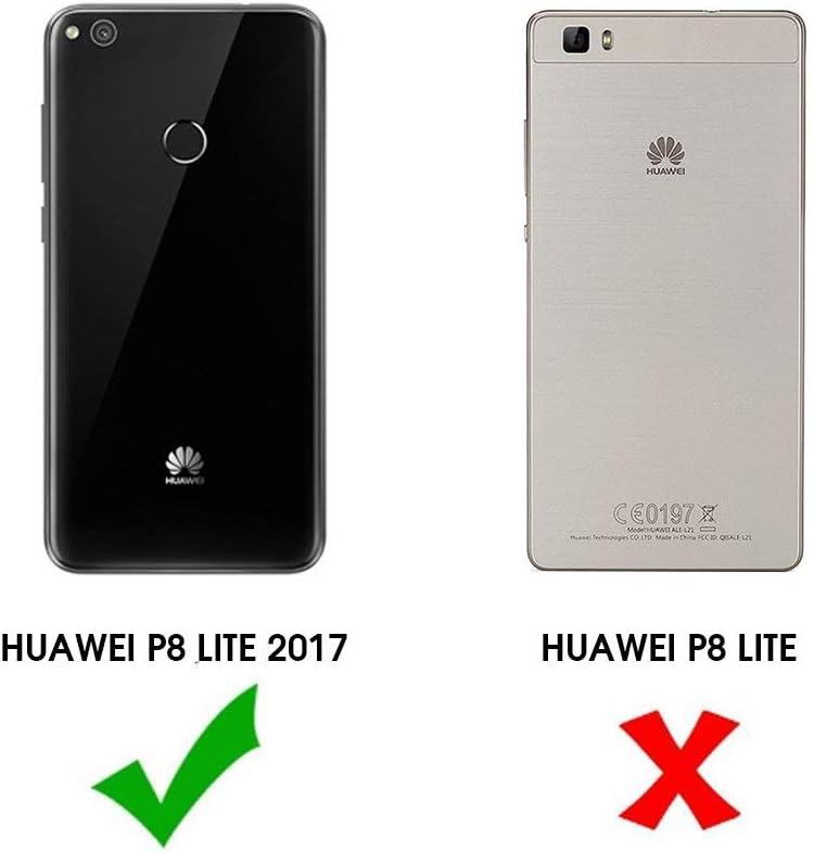 PLANETMOVIL Funda Economy Huawei P8 Lite 2017 Funda DE Silicona ...