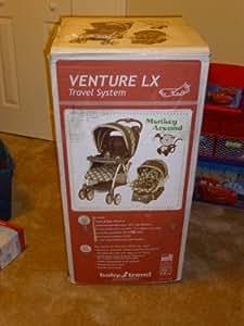 Baby Trend Venture LX Travel System Stroller - Monkey Around