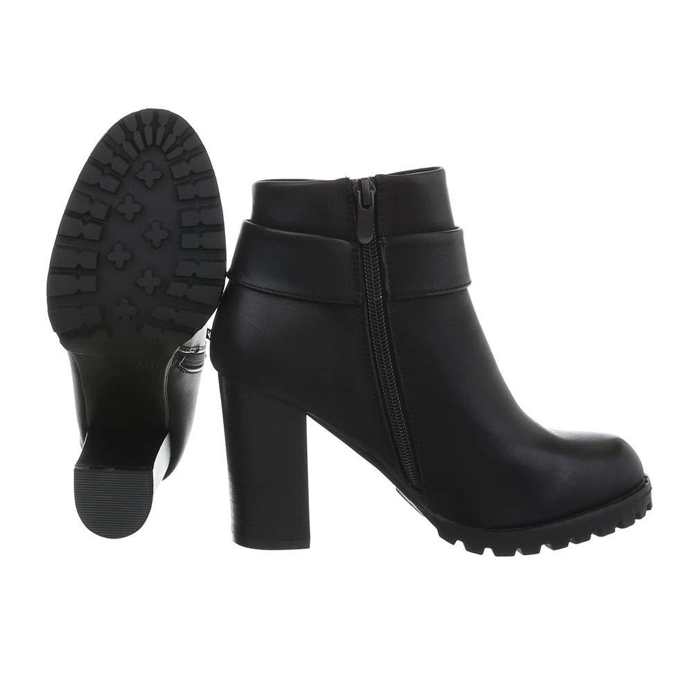 Damen Schuhe Stiefeletten Kurze High Heels Ankle Ankle Ankle Stiefel Pfennigabsatz EUR 36-EUR 41 99ac07