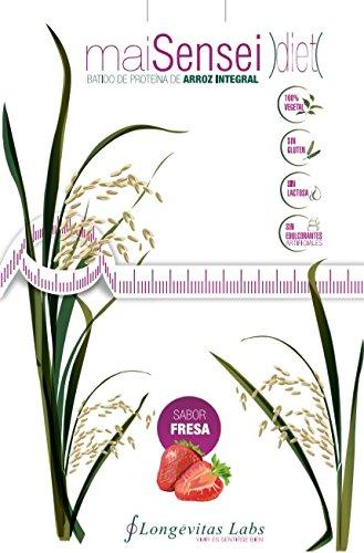 maiSensei Diet de Longevitas Labs es nuestro complemento nutricional 100% vegetal para perder peso sin