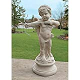Cheap Design Toscano Cupid's Message of Love Statue