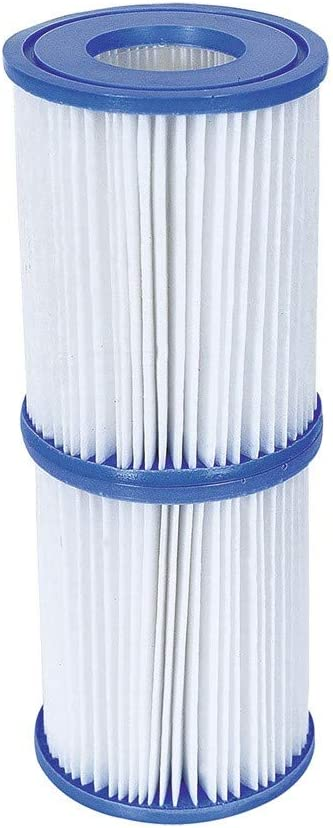 BOX OF 6 X TWIN PACKS BESTWAY SIZE II FILTER CARTRIDGES FOR POOLS /& LAY-Z-SPAS #58094