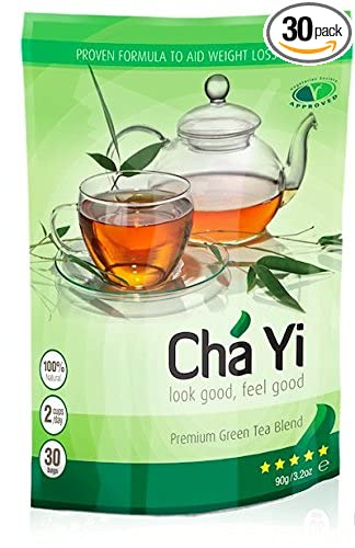 Cha Yi Weight Loss Tea 30 Day Detox Body Cleanse Reduce Bloating Appetite Suppressant 30