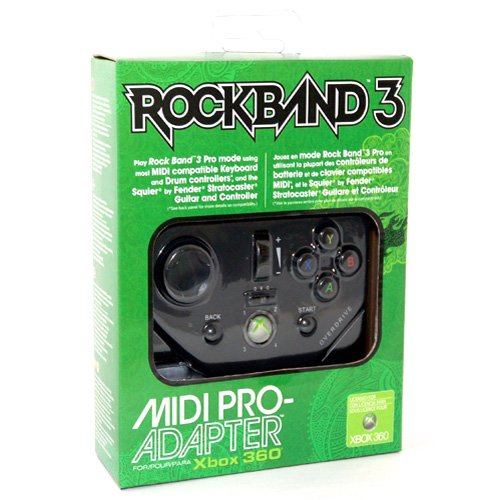 Simply Silver - New MadCatz Rock Band 3 Midi PRO-Adapter XBox 360 Keyboard Drum Guitar RB3