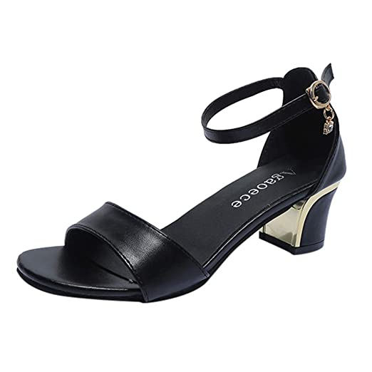 543afc1560357 Amazon.com: Moonker Wide Width Sandals Shoes for Women Ladies Summer ...