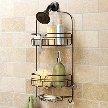 Hawthorne Place Large Shower Caddy Bronze Stainless Steel WLM