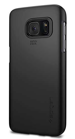 buy popular e60ea eaf92 Spigen Thin Fit Designed for Samsung Galaxy S7 Case (2016) - Black