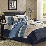 Serene Comforter Set Navy King