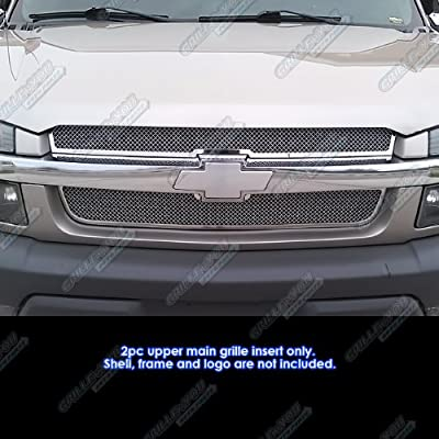 01-06 Chevy Avalanche Stainless Mesh Grille Grill Insert