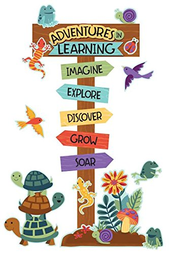 Nature Explorers Adventures in Learning Bulletin Board Set