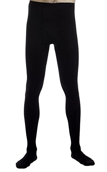 22716ecf4 Compression Leotard Pantyhose for Men with Opening at the Fly - Firm  Graduated Support - 20