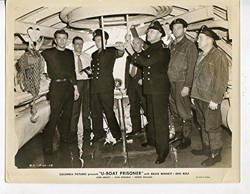 MOVIE PHOTO: U-Boat Prisoner-Bruce Bennett-John Wengraf-8x10-B&W-Still