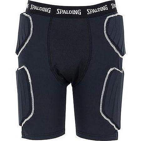 Spalding 300505601 Shorts con Protecciones, Hombre