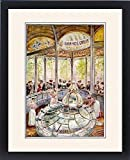 Framed Print Of Spa/france/vichy/1919