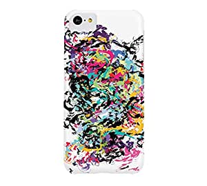 Be Colorful Be Nature iPhone 5c White Barely There Phone Case