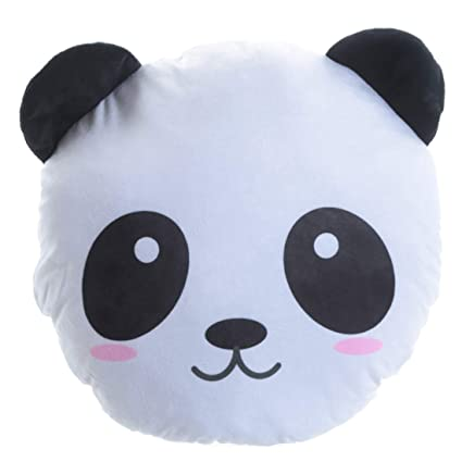 Amazon.com: Unbranded Plush Panda Cushion: Home & Kitchen